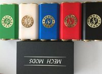 2015 Osmium Mech Box Mod 1: 1 Clone Mécanique mods double 18650 batterie 510 vs CHERRY BOMBER ABS V2 BOIS fuhattan manhattan