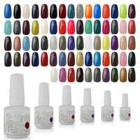 Wholesale UV Gel Nail Art IDO Gelish ml Colors UV Gel Glitter Primer Top Coat Manicure Tips Soak Off Nail Polish UV Gel
