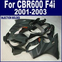abs plastic fairings - 100 ABS plastic free cowl for HONDA CBR F4i body parts CBR600 F4i black fairing kits VFDV