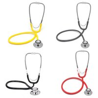 Wholesale Portable Dual Head EMT Clinical Stethoscope Medical Auscultation Device Estetoscopio Littmann