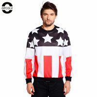american flag graphic - OPCOLV Men Women New Fashion D Sweatshirt Hoodie American Flag Design Print Pullovers Graphic Hoodies Tops Plus Size
