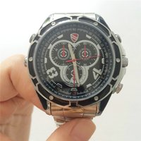 Wholesale Real gb spy watch camera Infrared Night Vision p DVR Video Audio HD Waterproof WatchCamera Mini Camcorders S6