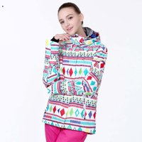 Wholesale new women skiing jacket letter scrawl snowboard jacket ladies black skiing jacket snow parka skiwear XS S M L