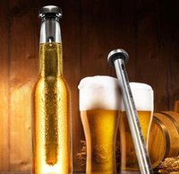 Wholesale Fashion Hot Beer Chiller Sticks Stainless Steel Beer Chill Cooling stick Drink Cooler Stick