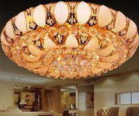cornucopia - Golden crystal lights sitting room lights led lamps and lanterns of bedroom restaurant cornucopia Chandelier