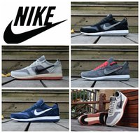 name brand shoes - Nike Archive shoes men retroc sports shoes brand name leather mesh trainer shoes