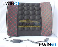 Wholesale Massage Back Cushion For Car Seat Electronic with an adapter Leather and Sponge Kinds Of Styles
