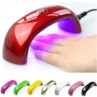 uv led nail lamp - Professional Nail Dryers Portable Mini LED UV Nail Lamp Nail Dryers Seconds Fast Dry Multicolors with Package Size mm Nail Art
