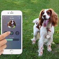 Wholesale Anti lost Locator Tracker Nut Smart Mini Tag Bluetooth Child Pet Key GPS Finder Alarm Car Bag Wallet Security Tracker