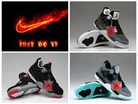 Wholesale Nike IV Shoes Cheap men sports Shoes Discount AJ Retro basketball sneaker Shoes