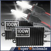 100w hid - DHL V W Xenon Conversion Kit HID xenon kit K xenon hid kit single beam H1 H3 H4 H7 H8