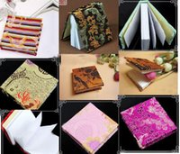 paper notebook - Wholesale10pcs Chinese Handmade Silk Paper Journal Blank Notebook Diary