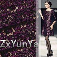 gauze fabric - Hollow out bud silk gauze couture fabrics suit the dress fabrics elegant