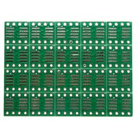 Wholesale Excellent Quality SOP8 SO8 SOIC8 SMD to DIP8 Adapter PCB Board Converter Double Sides mm mm
