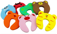 Wholesale pieces Child safety cartoon door card security door clip stop doors
