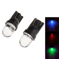 Wholesale T10 W lm RGB LED Flashing Light Motorcycle Instrument Fog Steering Lamp V