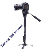 Wholesale Camera Tripods Yunteng monopod Unipod Holder Professional Photography tripod For Canon Eos Nikon DSLR VCT