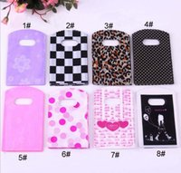 Wholesale Hot Sale New Fashion Gift Bag Colors cm Plastic Jewelry Pouches Bags Packaging Pack