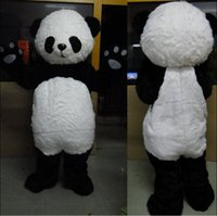 Wholesale Professional Panda Bear Outfit Mascot Costume Adult Size Fancy Dress For Party Valentine s Day Thanksgiving