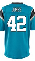 baby jones - Factory Outlet Men s Colin Jones Jersey Elite White Black Baby Blue Stitched Name And Number