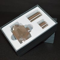 Cheap Hammer Mods full mechanical mod with 2 extension tubes 18350mAh 18500mAh 18650mAh vapor gift box kit e cigarette Nemesis Ikarus mod DHL free
