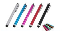 Wholesale Phones Tablet capacitive stylus touch pen Universal capacitive pen stylus kid warhead DHL