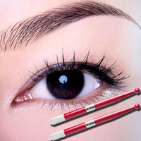 Wholesale 5 pieces of Permanent makeup pen for floating eyebrow tattoo pencil professional body art