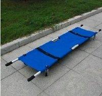 aluminum stretcher - 10pcs Stretcher thickening type aluminum alloy stretcher folding emergency stretcher