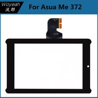lcd asus - Front LCD Touch Screen For Asus ME Black Outer Lens Touch Screen Digitizer Glass For Asus