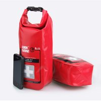 Wholesale Hot Sales Outdoor First Aid Medical Bag Resistant Waterproof Dry Storage Bag Folding Dry Bag for Camping MC0043
