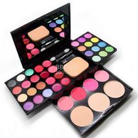 Wholesale Make up compact makeup palette Eyeshadow plate lipstick blush powder Makeup Sets maquiagem conjunto Makeup Kit
