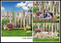 Wholesale 5 FT Cute Children Backgrounds Photography Backdrops Fotografia Computer Printing Backgrounds Vinyl Backdrops For Photography Hot