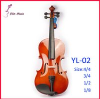 Wholesale Basswood Polywood Violin Violin with Size Violin Sent with Bow Rosin and Case high quality