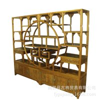 Cheap Phoebe study classical Chinese furniture grade wood home bar shelves lockers
