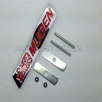 accord grille - Car Styling Metal Mugen Front Grille Emblem Sticker Accessories For Honda Accord Civic