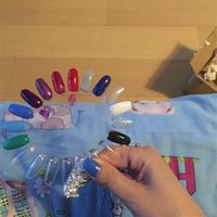 beauty color wheel - top fashion rushed oil nails nail beauty products natural color false nai display tips practice wheel amp retail