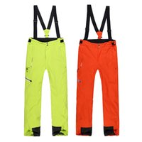 adult ski pants - Phibee Ski pants for men and women Waterproof Windproof degree plus size pure color thickened adult ski pants