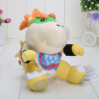 Wholesale 100pcs New Super Mario Brothers Bowser JR inch Plush Doll