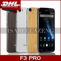 Wholesale Free DHL Original Doogee F3 Pro Inch G LTE FHD x1080 MTK6753 Octa Core Android Mobile Cell Phone GB RAM GB ROM MP Camera