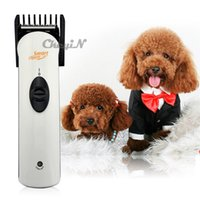 hair clipper accessories - Electric Cordless Pet Dog Cat Hair Trimmer Rechargeable Hair Clipper Haircut Machine Dog Grooming For Pet Dogs Cats RCS46W order lt no