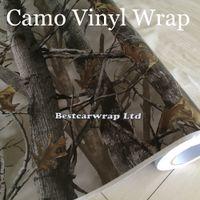 vinyl sticker - Ambush military Camo Vinyl Wrap For Car Wrap Styling With Air Release Mossy oak Tree Leaf Camouflage Sticker size x m Roll