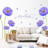 art language - bedroom decoration The new creative combination of wall stickers TV backdrop decorative decals language of the Netherlands chrysan
