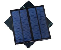Wholesale Solar panels solar drops A level polysilicon board rubber sheet DIY solar panels W V Best quality