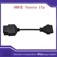 adapter connector manufacturers - Manufacturers Toyota Pin to PIN OBD2 OBDII Cable Toyota pin Cable Adapter Connector for Toyota