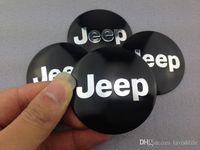 car accessories logo - 3D Jeep Logo Emblem Car Accessories Wheel Cap Stickers mm Car Badge