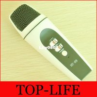 Wholesale HY Hifier Singing Song Microphone For iphone for Android Computer Recording Special Condenser Microphone KTV speaker