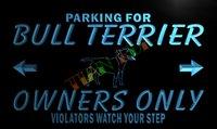bar owner - LZ157 TM Bull Terrier Owner Parking Neon Light Sign D Carving Crystal Light Box