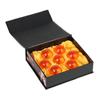 Wholesale 50pcs CM New In Box DragonBall Stars Crystal Ball Set of Dragon Ball Z Balls Complete set