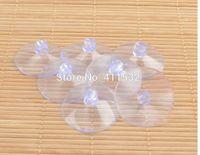 balloon cups - 50pcs cm Wedding Supplies Plastic Rubber Suction Cup Wedding Car Bandwagon Balloon Transparent Plastic Sucker