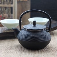 enamel teapot - teapot ml Tetsubin black antique cast iron teapot enamel set tea filter infuser strainer chinese kung fu tea kettle